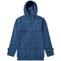 Nanamica Nylon Cruiser Jacket Blue
