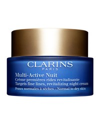 Clarins Multi Active Night Cream For Normal To Dry Skin 1.7 Oz.