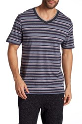 Tommy Bahama Heather Striped Jersey Tee Multi