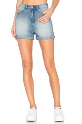 Cheap Monday Donna Shorts Rush Blue