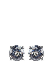 Bottega Veneta Cubic Zirconia And Silver Earrings