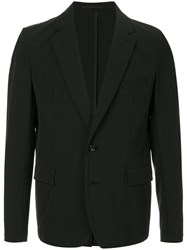 Attachment Single Breasted Blazer Black