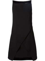 Marios Schwab Wrap Front Fitted Dress