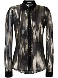 Ungaro Emanuel Sheer Shirt Black