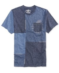 American Rag Men's Patchwork T Shirt Only At Macy's Basic Navy