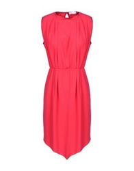 George J. Love Short Dresses Fuchsia