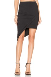 Donna Mizani Asymmetrical Skirt Black