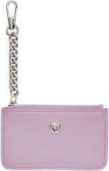 Versace Pink Small Medusa Coin Pouch