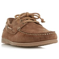 Bertie Beach House Suede Shoes Tan