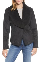 Kenneth Cole New York Short Faux Shearling Jacket