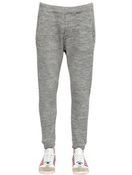 Dsquared Cotton And Wool Blend Jogging Pants
