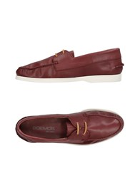 Boemos Loafers Brick Red