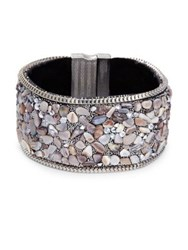 Design Lab Lord And Taylor Textured Bangle Bracelet Multi
