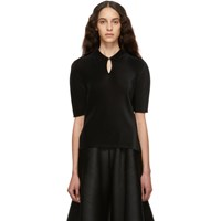 Issey Miyake Pleats Please Black Mist March Polo
