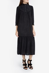 Raquel Allegra Women S Victorian Acid Wash Dress Boutique1 Black