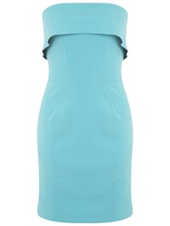 Miss Selfridge Frill Edge Bandeau Dress Mint