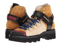 Dsquared2 Hiking Ankle Boot Camel Boots Tan