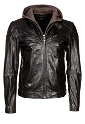 Gipsy Biko Leather Jacket Black
