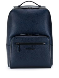 Salvatore Ferragamo Revival Meta Backpack Blue