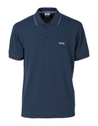 Jeep Athletic Polo Dark Blue