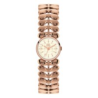 Orla Kiely Women's Stem Bracelets Strap Watch Rose Gold Cream