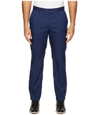 Nike Flat Front Pants Midnight Navy Midnight Navy Men's Casual Pants Blue