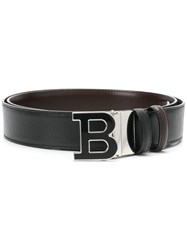 Bally B Logo Belt Black