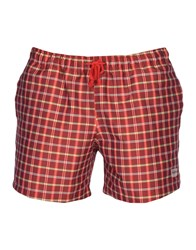 Primo Emporio Swim Trunks Brick Red