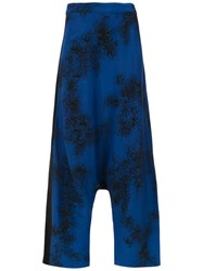 Mara Mac High Waisted Culottes Blue