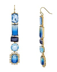 Kate Spade New York Color Crush Drop Earrings Blue Multi Gold