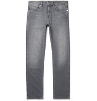Hugo Boss Delaware Slim Fit Stretch Denim Jeans Gray