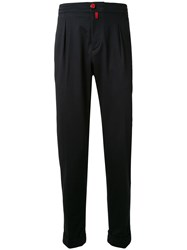 Kiton Elasticated Waistband Tapered Trousers 60