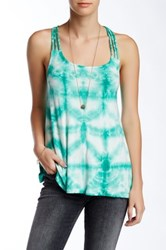 Green Dragon Windowpane Tank Multi