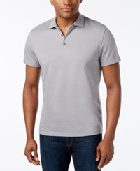 Alfani Men's Chambray Polo Only At Macy's Shark Combo