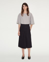 Christophe Lemaire Flared Skirt Black