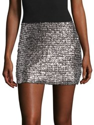 Bailey 44 Supreme Mini Skirt Metallic