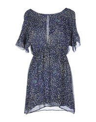 Rosamunda Dresses Short Dresses Women Dark Blue