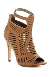 Michael Antonio Jyst Peep Toe Heel Brown