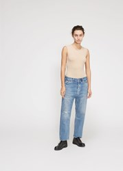 Chimala 'S Wide Tapered Cut Selvedge Denim Pants In Vintage Light Size 26 100 Cotton