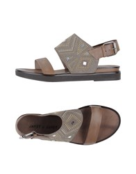 Janet And Janet Footwear Sandals Women Khaki