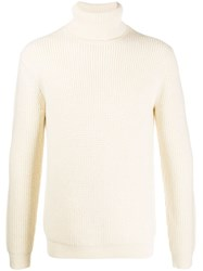 Theory Roll Neck Jumper Neutrals