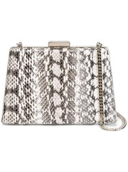 Lanvin A Line Compact Shoulder Bag White