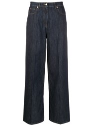 Valentino Vgold Wide Leg Jeans 60