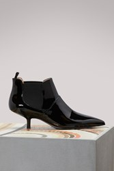 Acne Studios Kity Heeled Ankle Boots Black