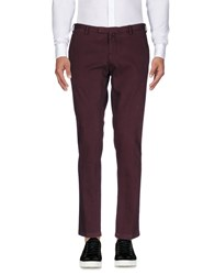 Germano Casual Pants Maroon