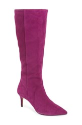 Linea Paolo Perfect Boot Purple Suede