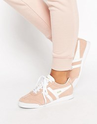Gola Harrier Blush Pink Trainers Pink