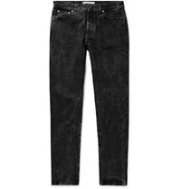 Givenchy Distressed Denim Jeans Gray