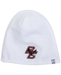 Under Armour Women's Boston College Eagles Diamond Tough Beanie White
