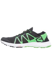Salomon Crossamphibian Swift Neutral Running Shoes Black Classic Green